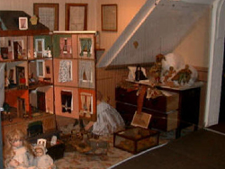 Blandford Town Museum's Victorian child's playroom exhibition
